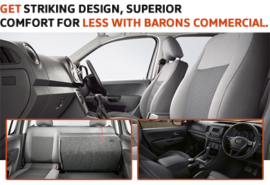 Get striking design, superior comfort for less with Barons Commercial.