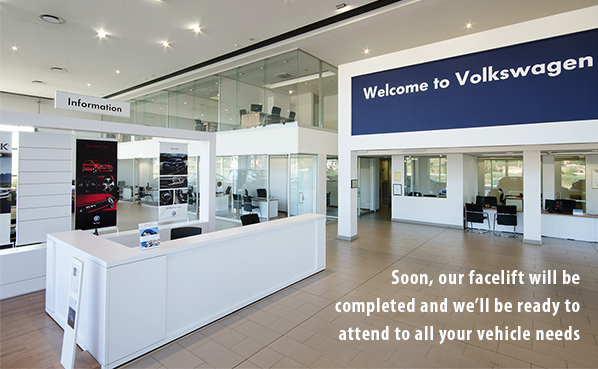 Soon, our facelift will be completed and we'll be ready to attend to all your vehicle needs