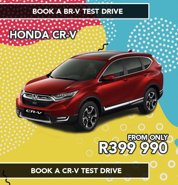 Honda CR-V FROM ONLY R399 990