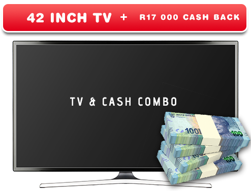 TV and Cash Combo