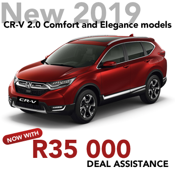 New 2019 CR-V 2.0 Comfort and Elegance models