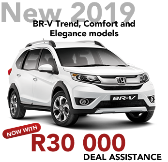 New 2019 BR-V Trend, Comfort and Elegance models