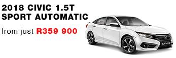 Civic 1.5T Sport Automatic