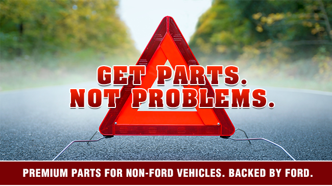 Get parts. Not problems.
