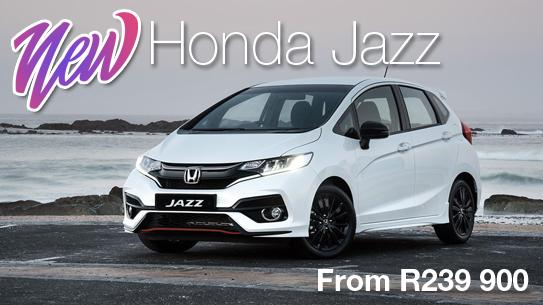 NEW Honda JazzFrom R239 900