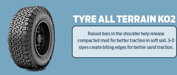Tyre all terrain ko2