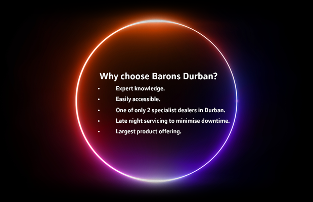 Why choose Barons Durban?