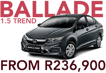 Ballade 1.5 Trend from R236,900