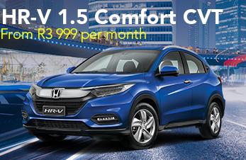 HR-V 1.5 Comfort CVT  From R3 999 per month