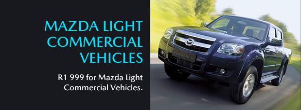 MAZDA LIGHT COMMERCIAL VEHICLES R1 999 for Mazda Light Commercial Vehicles.