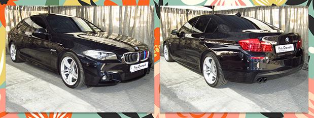 2016 BMW 5 SERIES 530d M SPORT STEPTRONIC