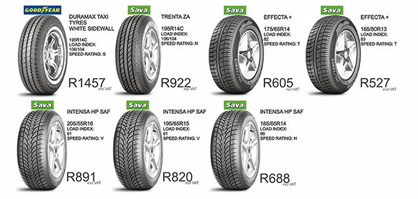 Tyre Specials