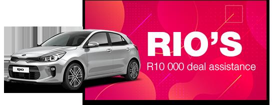 RIO'S: R10 000 deal assistance