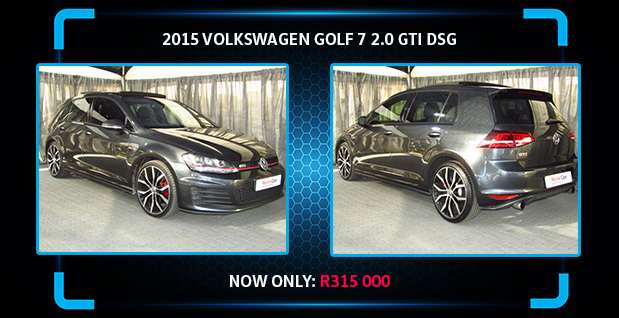 2015 VOLKSWAGEN GOLF 7 2.0 GTI DSG