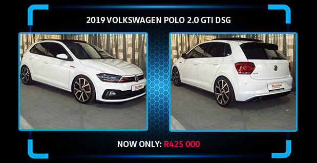 2019 VOLKSWAGEN POLO 2.0 GTI DSG