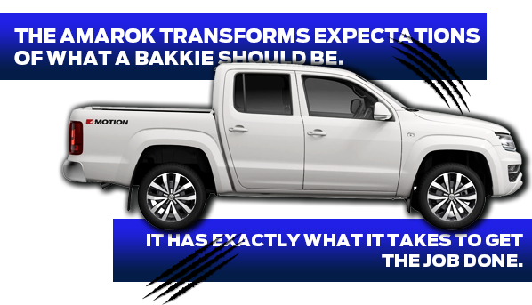 The Amarok transforms expectations of what a bakkie should be
