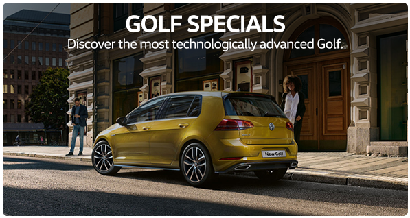 GOLF SPECIALS Discover the most technologically advanced Golf.