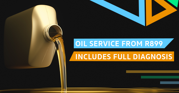 OIL SERVICE FROM R899 INCLUDES FULL DIAGNOSIS